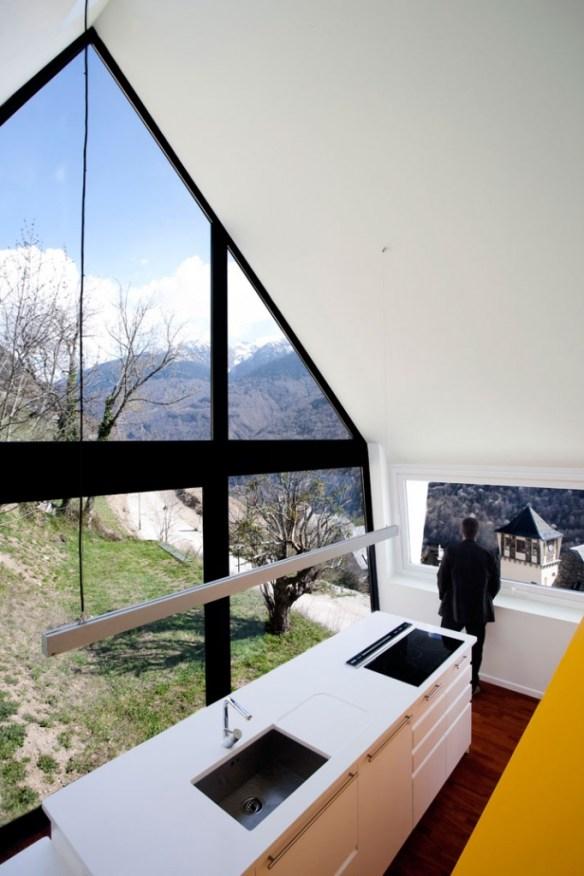 Casa en los Pirineos por Cadaval y Solà-Morales 2