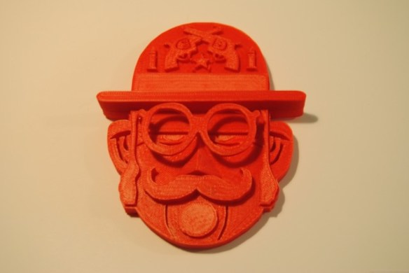 just make, moustachemen, lawerta, impresion 3D
