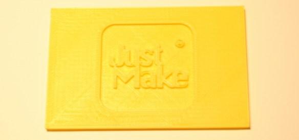 Just Make, impresion 3d, logo