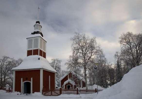 Jukkasjarvi iglesia