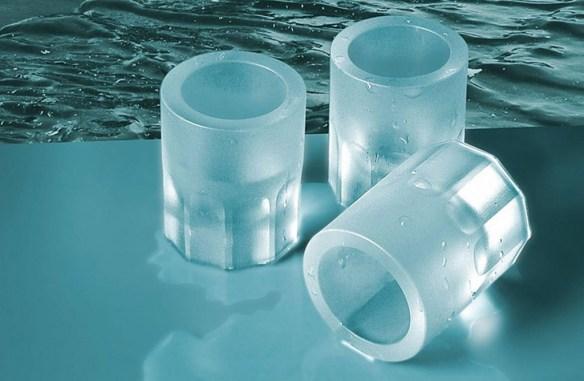 Molde cubitos de hielo con forma de chupitos