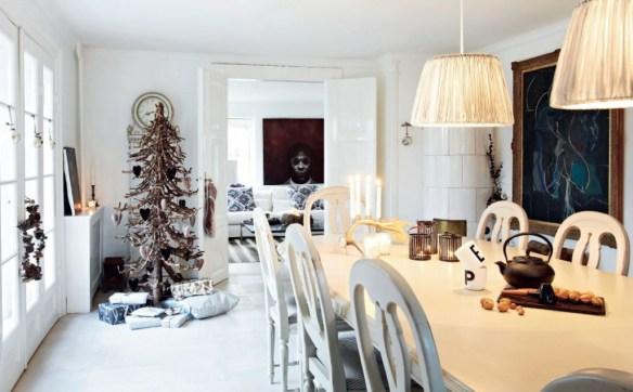 Decoración de navidad estilo nórdico