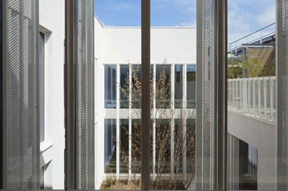 mediateca albert camus evry nueva biblioteca ventanal