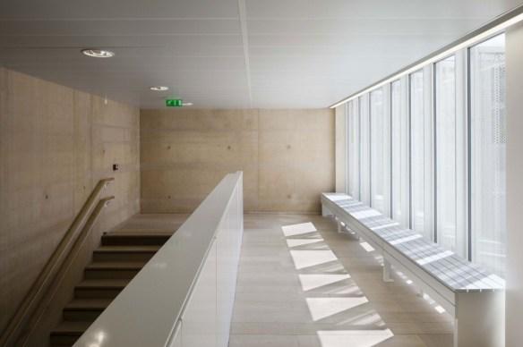 mediateca albert camus evry nueva biblioteca interior