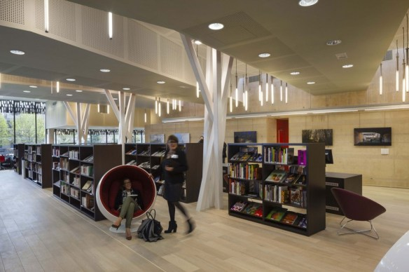 mediateca albert camus evry nueva biblioteca salas