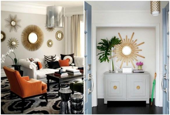 Las diferentes variedades y formas de decorar con espejos - Espejos pequenos ...