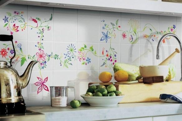Azulejos de cocina en blanco, diseño italiano - dintelo ...