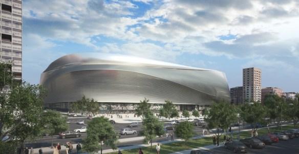 el nuevo estadio del real madrid