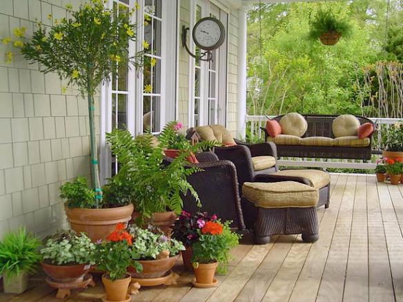 terraza porche