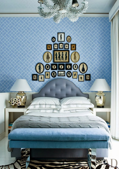 decorar azul dormitorio