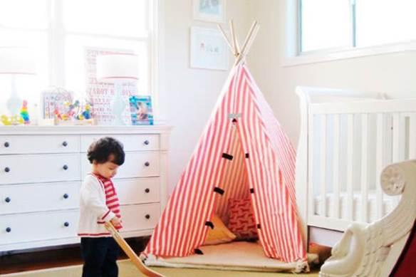 Habitaciones infantiles tiendas de campana 14