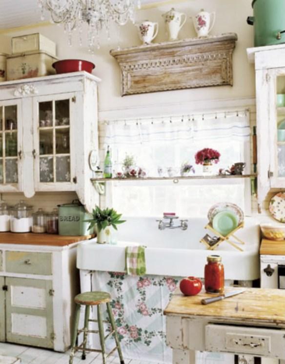 cocina fregadero