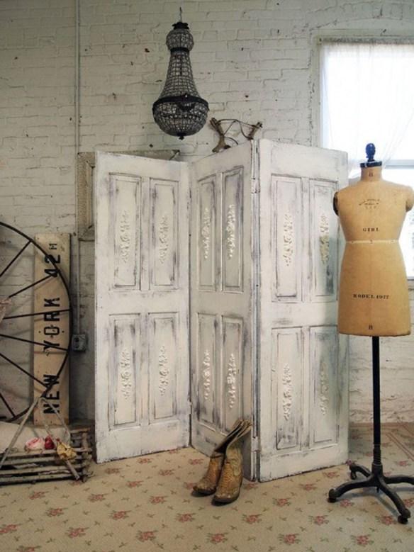 Decorar con puertas antiguas 12
