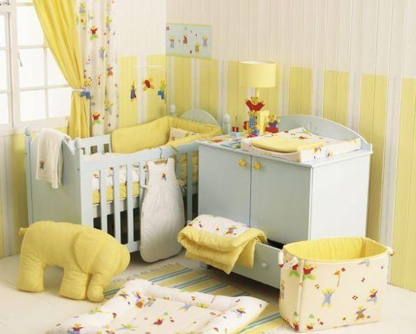 habitacion bebe amarilla