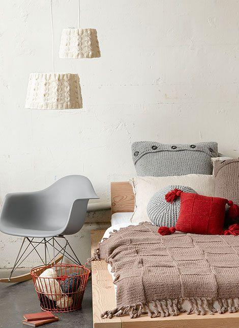 Silla Eames dormitorio