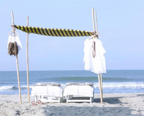 cabana en la playa de Laurence Dolige 6