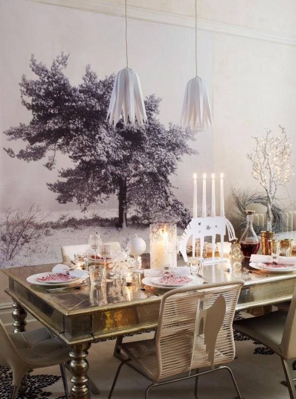 decorar la mesa en Nochevieja 14