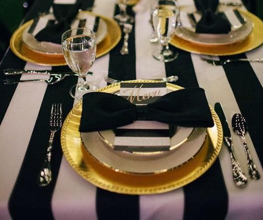 decorar la mesa en Nochevieja 7