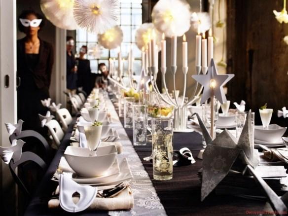 decorar la mesa en Nochevieja 8