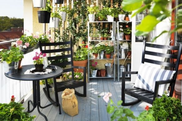 Jardin en el balcon 1