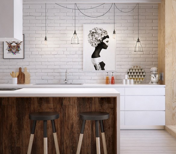 feature-art-kitchen-varnished-wooden-bench