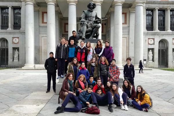 De salida por Madrid con 4º de ESO