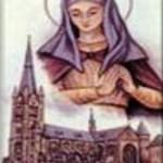 Santa Liduína (Lidvina) 1380-1433