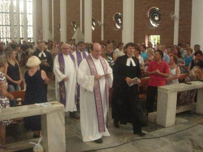 celebração ecumenica Campanha FRATERNIDADE 001