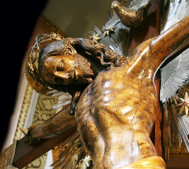 Il Crocifisso di Fra Umile da Petralia.