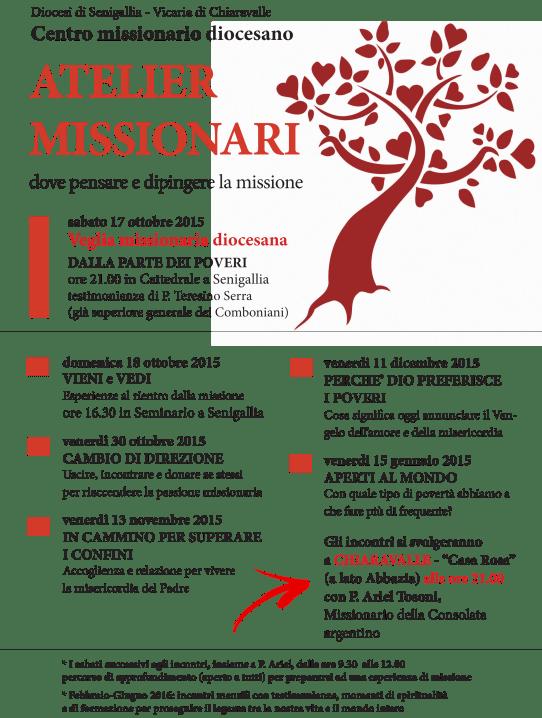 Atelier missionari - 2015 e 2016