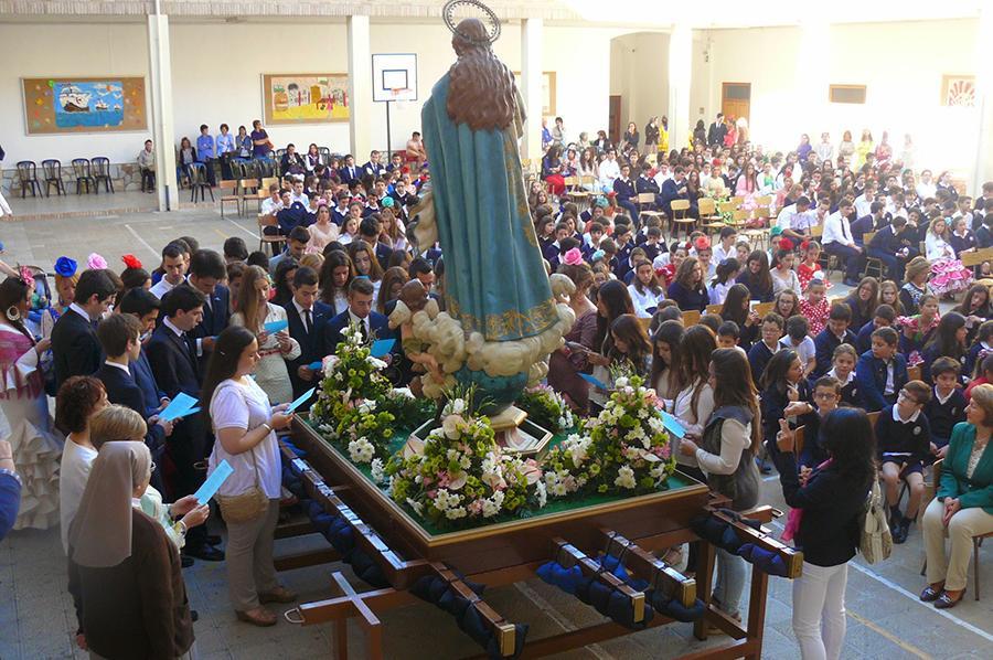 Rosario de la Aurora en Mara Inmaculada de Antequera