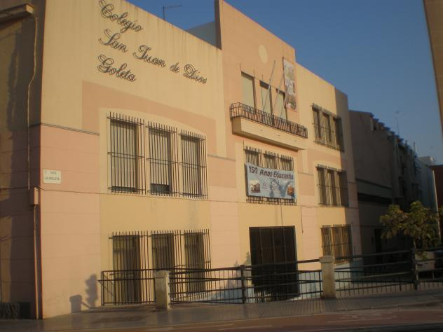 Colegio San Juan de Dios La Goleta  ptica de fe