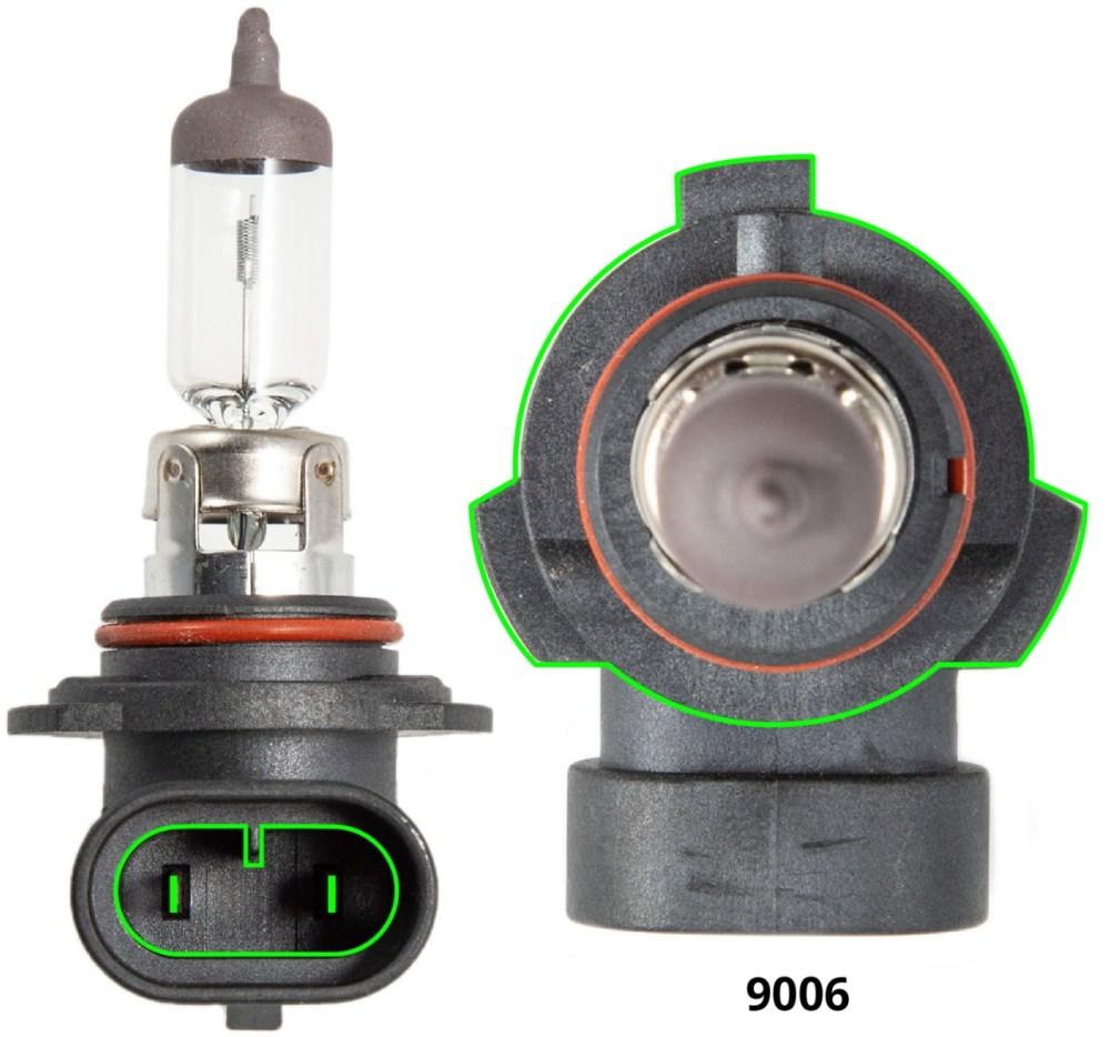 medium resolution of 9006 stock bulb