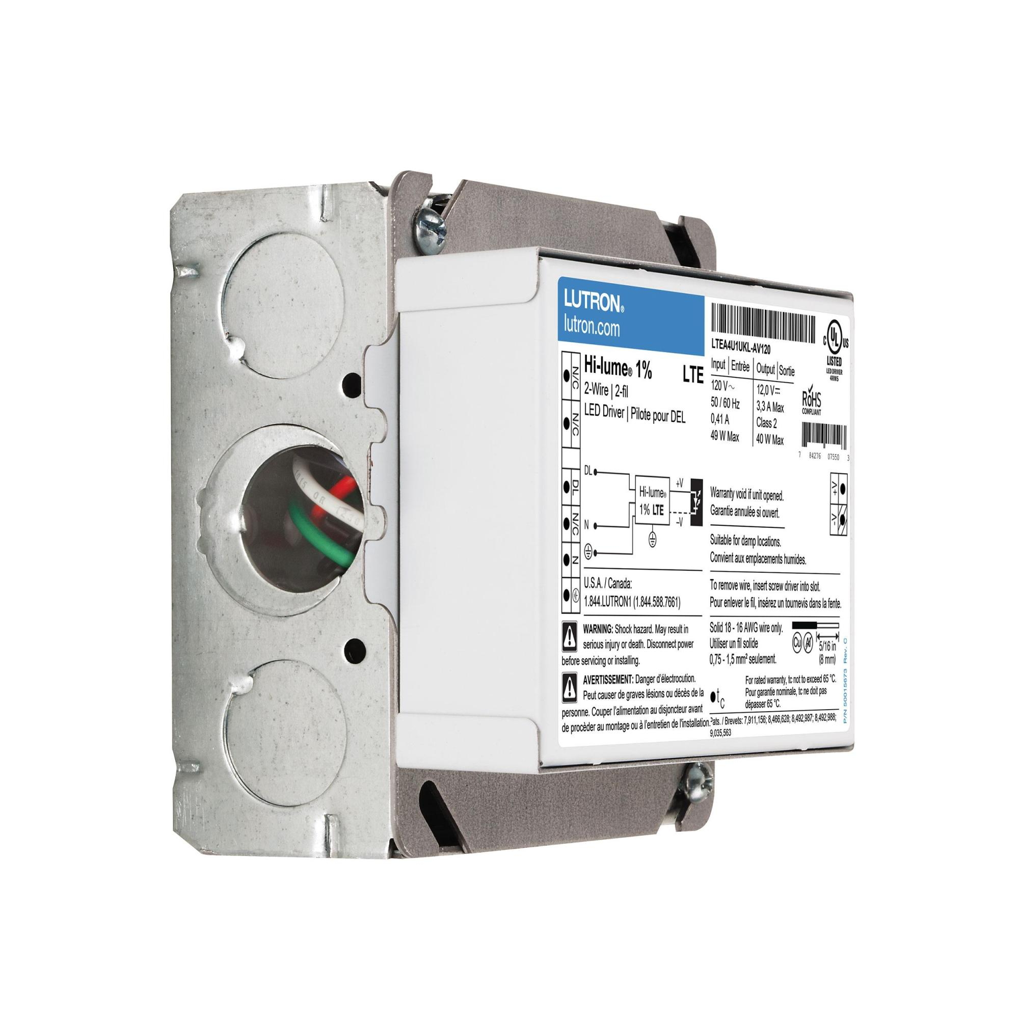 hight resolution of lutron hi lume 1 dimmable led drivers