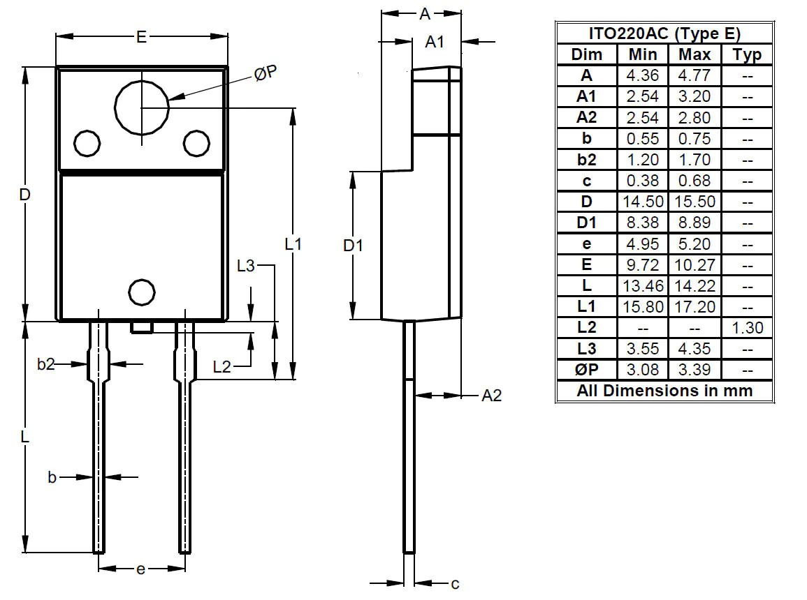 hight resolution of diodes package outlines and pad layouts