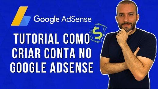Criar Conta Google Adsense