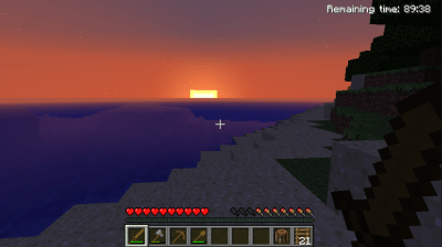 My first sunset