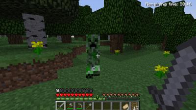 A creeper stalking me