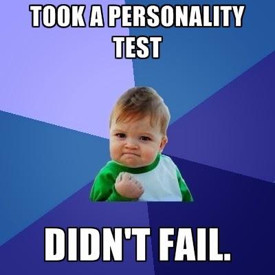 personality test meme