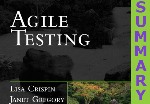 Testing for agile teams: Summary