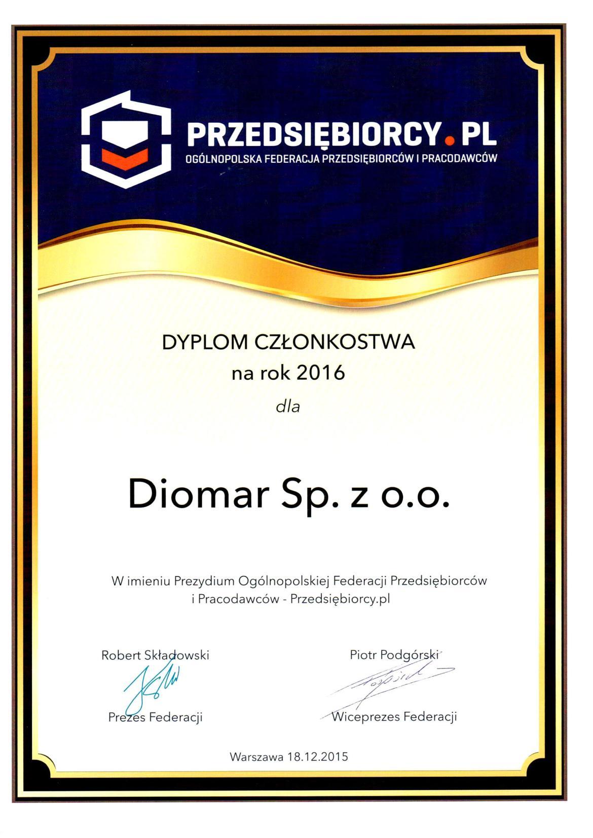Certyfikat-2015-12-18-PrzedsiebiorcyPL-Czlonkostwo2016