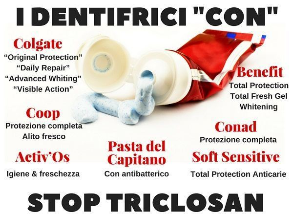 dentifrici triclosan