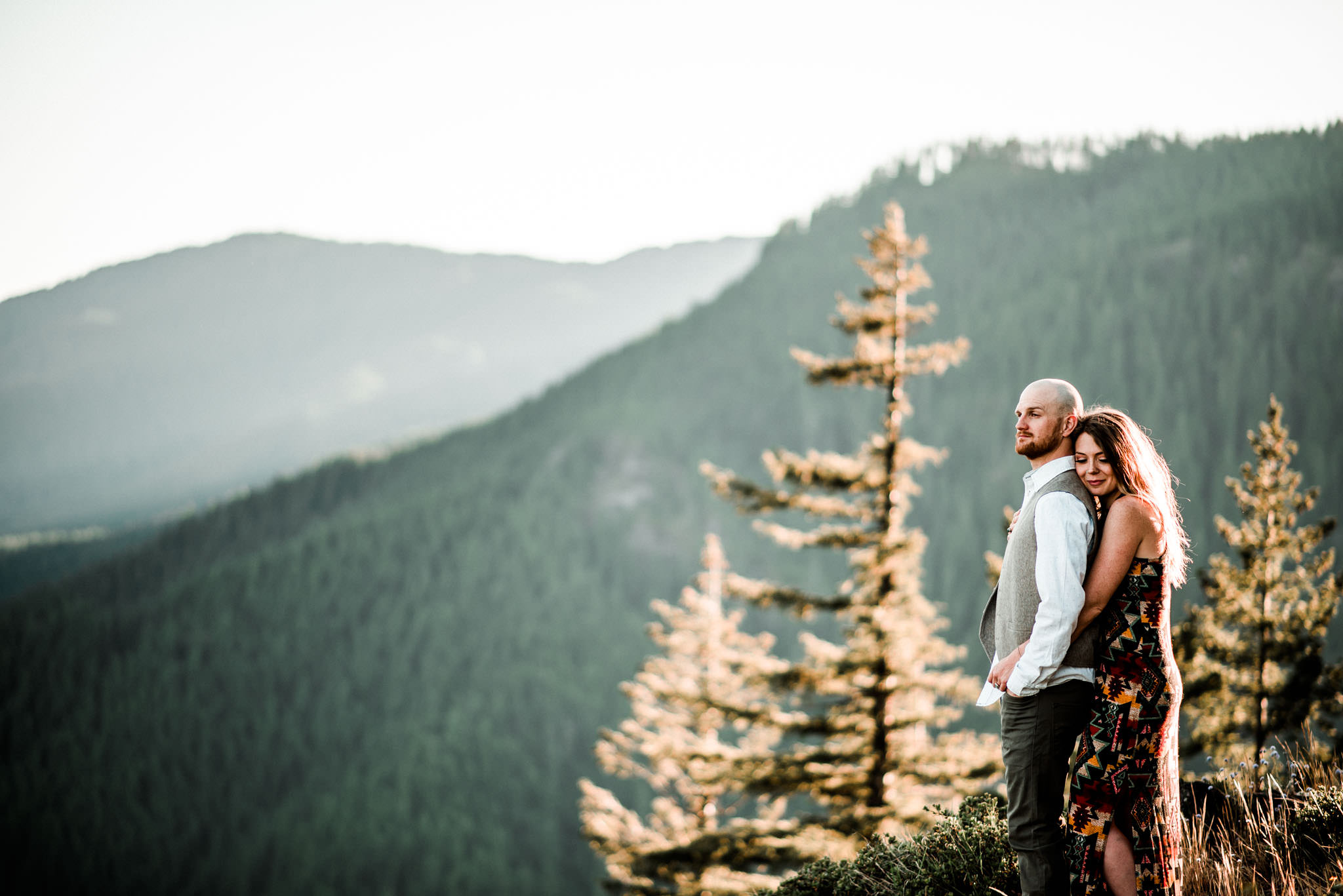 Forest Engagement photography