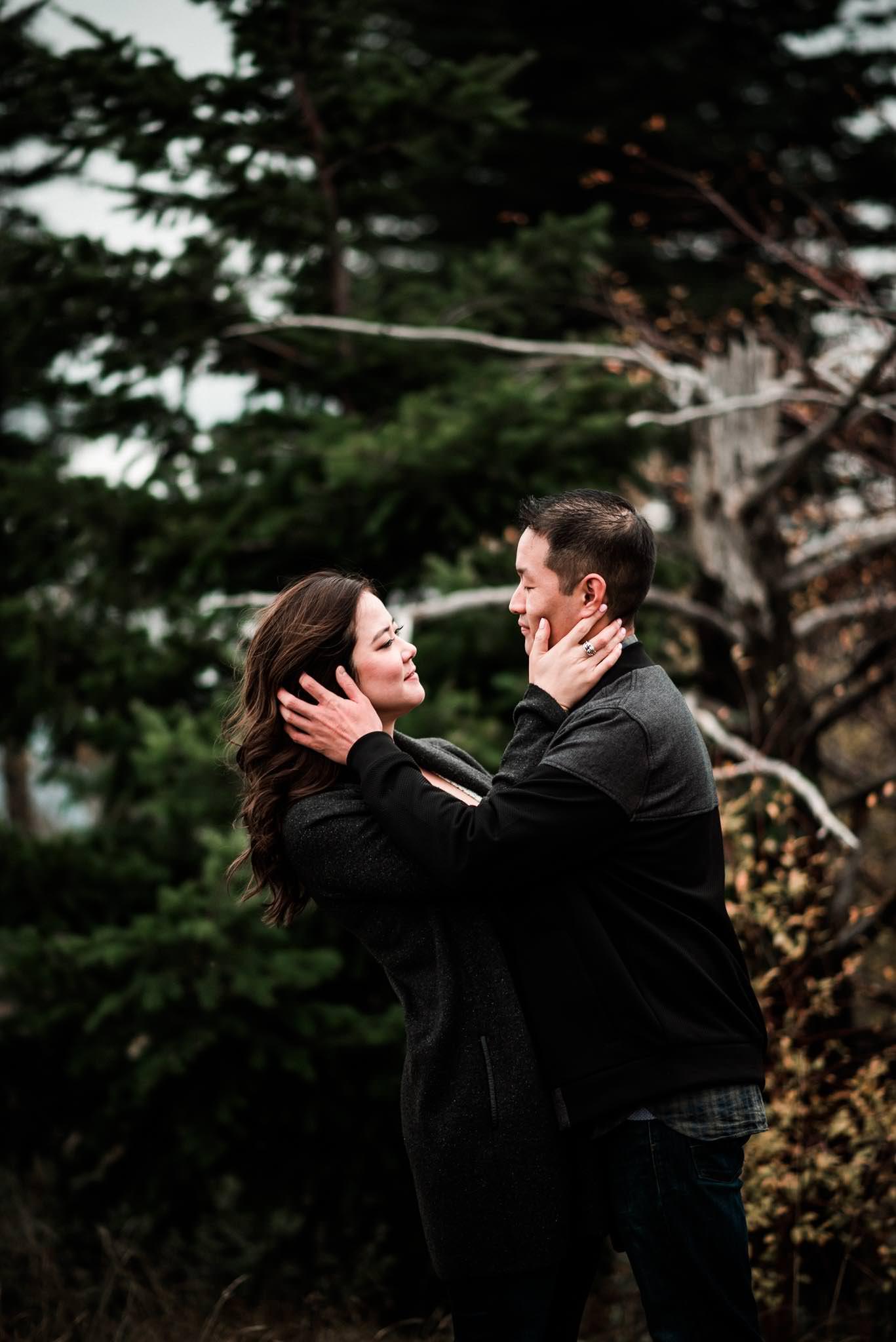 Cascade Locks Engagement-7