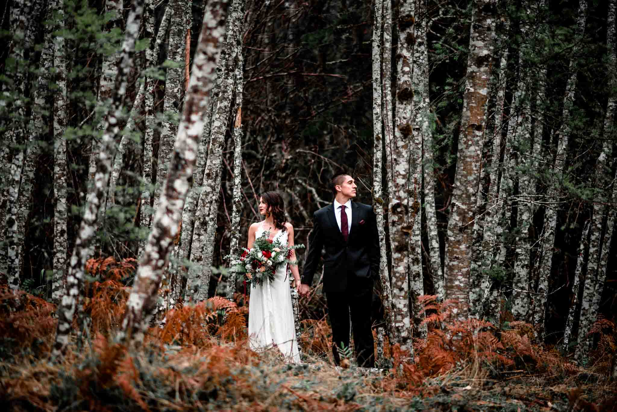 Mt Hood Burke Cabin Wedding-26