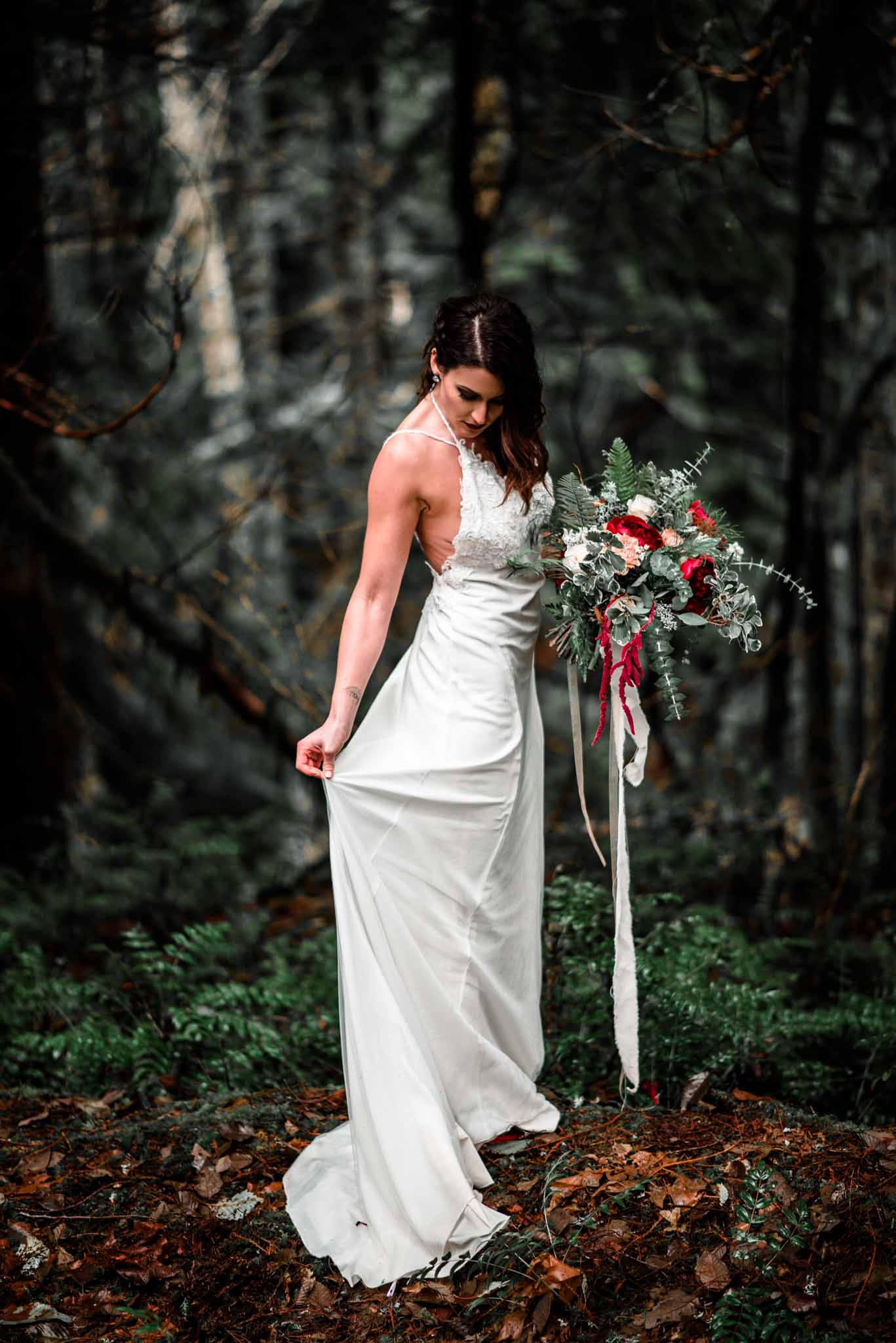 Mt Hood Burke Cabin Wedding-6