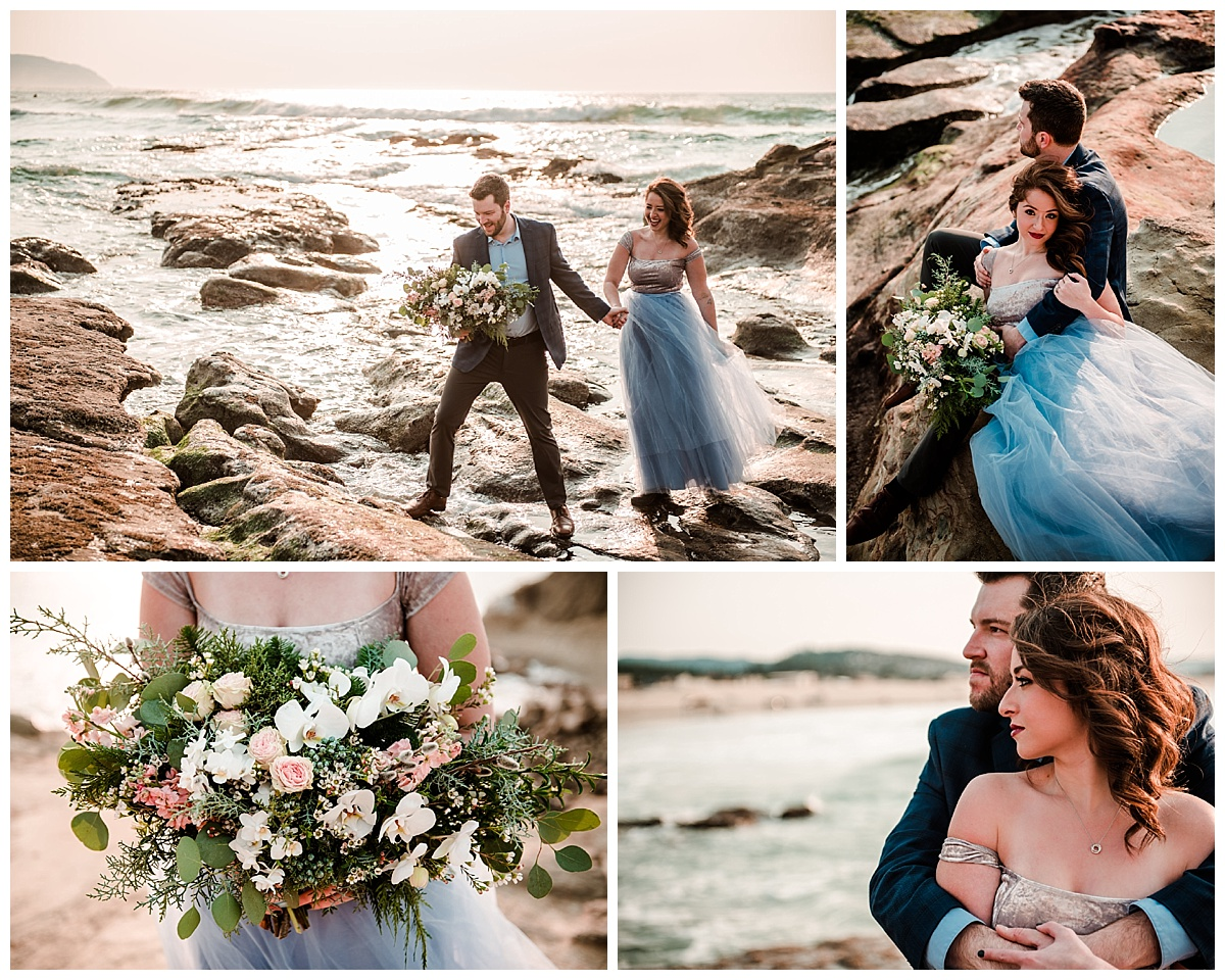 Cannon Beach engagement and elopement photographer Portland Oregon