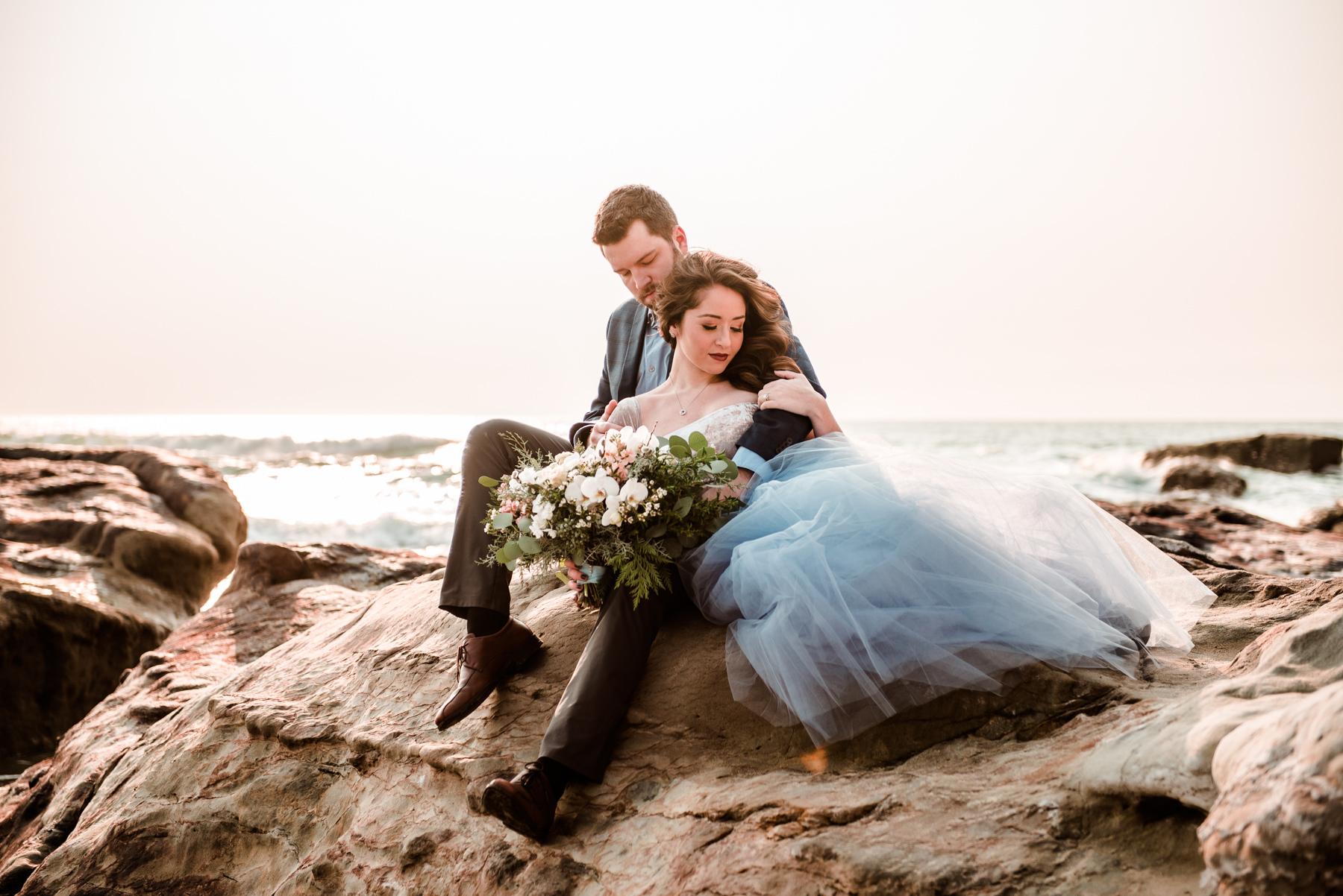 PNW Oregon coast wedding engagement photographer