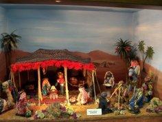 presepe in Giordania (tenda beduina)