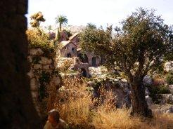 diorama presepe vegetazione